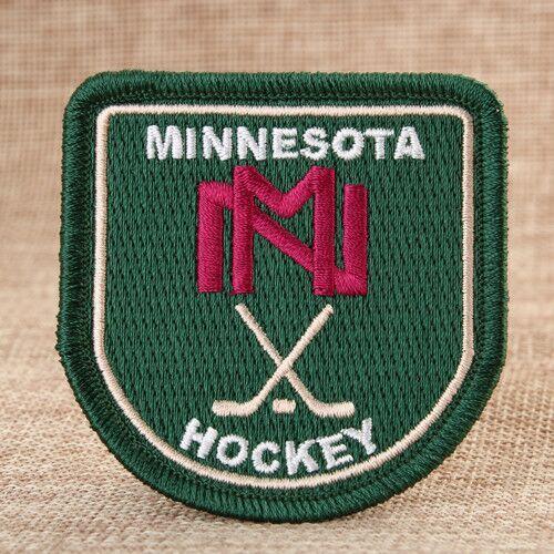 Minnesota Hockey Custom Patches Online