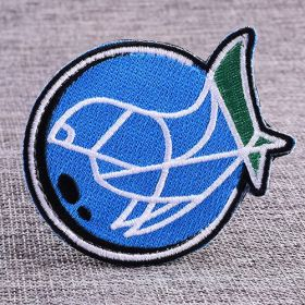 Fish Funny Velcro Patches