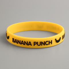 BANANA PUNCH Yellow Wristbands