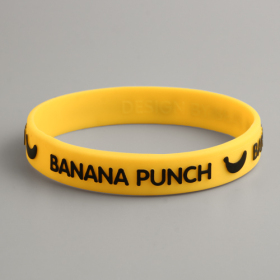 BANANA PUNCH Yellow Wristbands