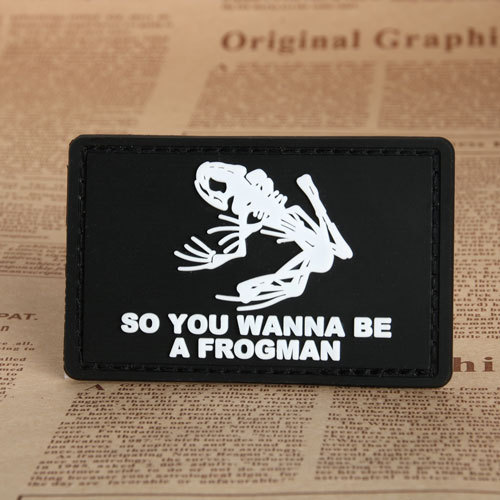 Frog Military PVC Patches