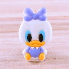 Daisy Duck PVC Patches