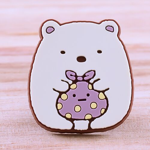 Little White Bear PVC Patches