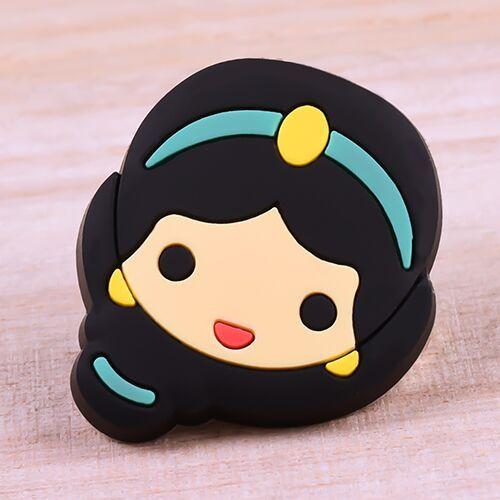 Cartoon Princess Jasmine PVC Patches