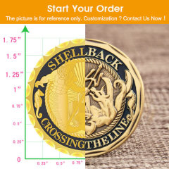 Order of Man Personalized Coins