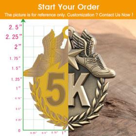 Afghanistan Custom Hard Enamel Medals