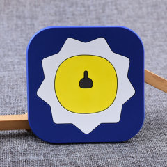 Abstract Lion Custom PVC Coaster