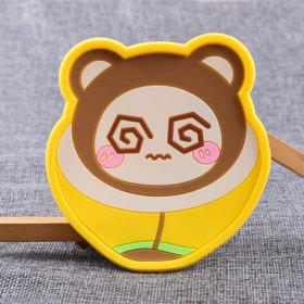 Banana Brother Custom PVC Coaster