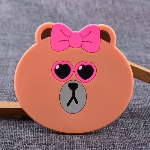 Choco Custom PVC Coaster