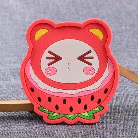 Strawberry Sister Custom PVC Coaster