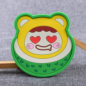 Watermelon Brother Custom PVC Coaster