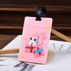 Unicorn Custom PVC Luggage Tag