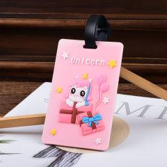 Unicorn Custom PVC Luggage Tag