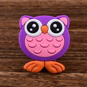 Big Eyes Owl Custom PVC Magnet