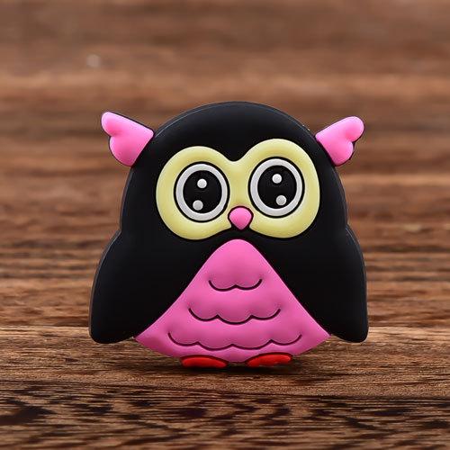 Cut Owl Custom PVC Magnet