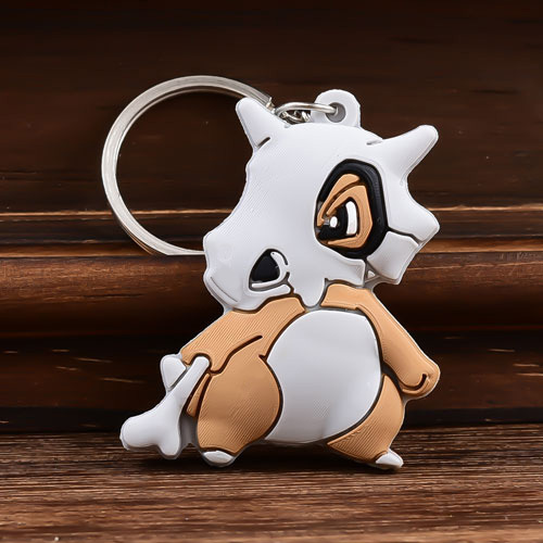 Marowak Custom PVC Keychains