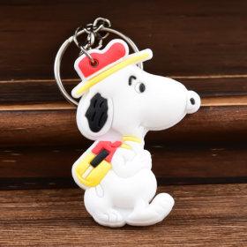 Snoopy PVC Keychain