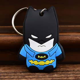 3D Batman PVC Keychain