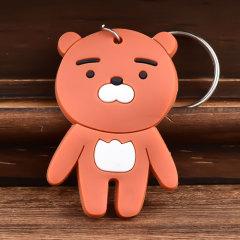 3D Swarthy Ryan Custom PVC Keychain