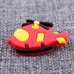 Helicopter PVC Lapel Pins
