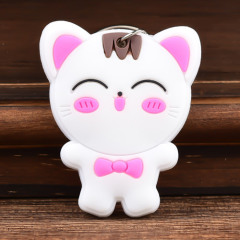 Smile Cat Custom PVC Keychain