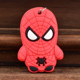 Spiderman Custom PVC Keychain