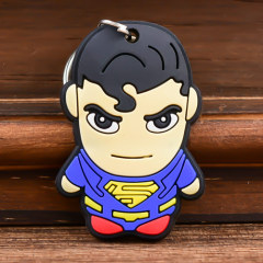 Superman Custom PVC Keychain