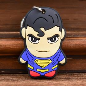 Superman Custom PVC Keychain