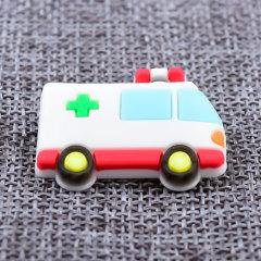 Custom 3D Ambulance PVC Lapel Pins