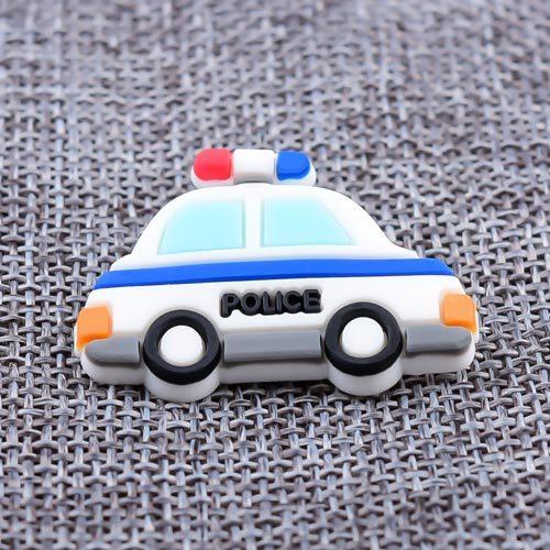 Custom 3D Police Car PVC Lapel Pins