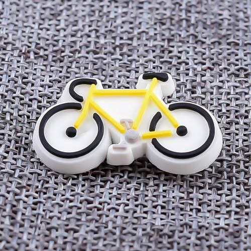 Custom Bicycle PVC Lapel Pins