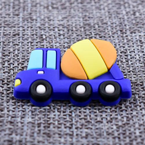 Custom Cement Mixer Car PVC Lapel Pins