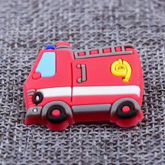 Custom Fire Truck PVC Lapel Pins