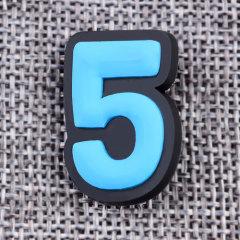 Custom Five PVC Lapel Pins