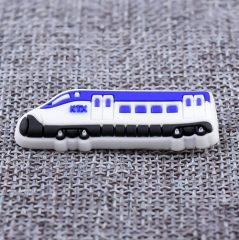High-speed Railway PVC Lapel Pins