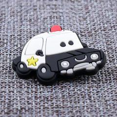Custom Retro Police Car PVC Lapel Pins