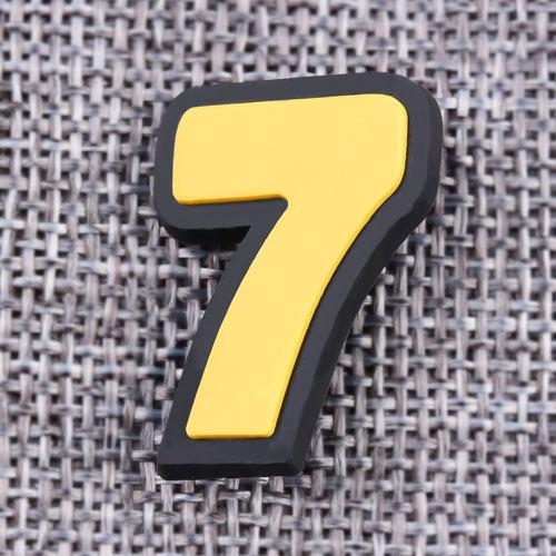 Custom Seven PVC Lapel Pins
