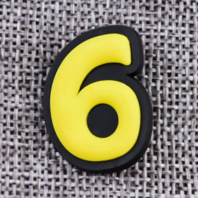 Custom Six PVC Lapel Pins