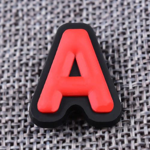 Custom 3D A PVC Lapel Pins