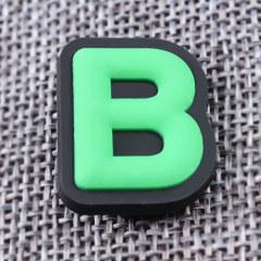 Custom 3D B PVC Lapel Pins