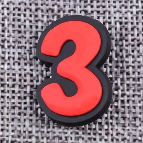 Custom THREE PVC Lapel Pins