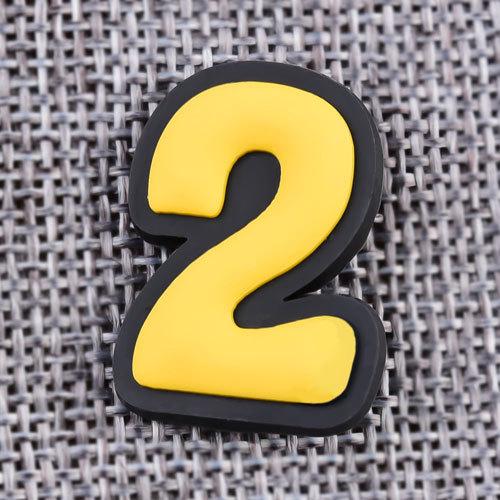 Custom TWO PVC Lapel Pins