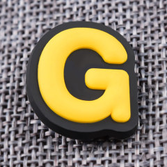 Custom 3D G PVC Lapel Pins