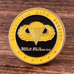 101st Airborne Challenge Coins