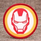 Iron Man Custom Woven Patches