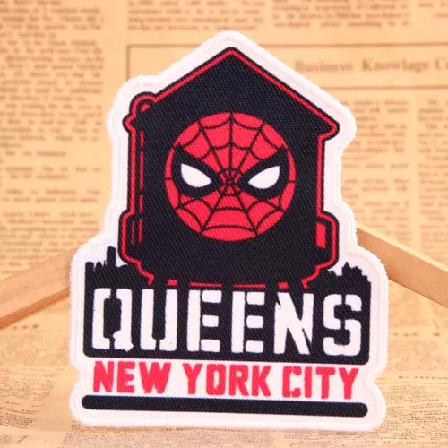 Spider-Man Custom Woven Patches