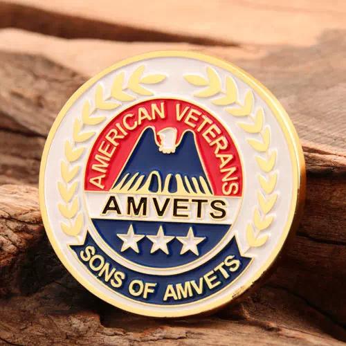 AMVETS Veterans Challenge Coins