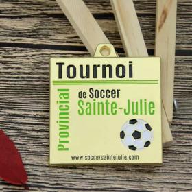 Custom Gold Soccer Medals