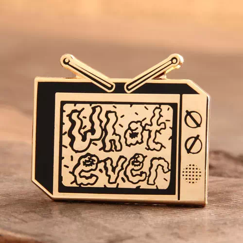 Custom Television Enamel Pins