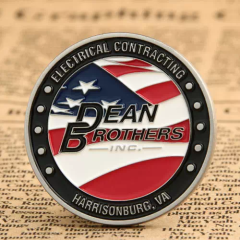 Dean Brothers Challenge Coins